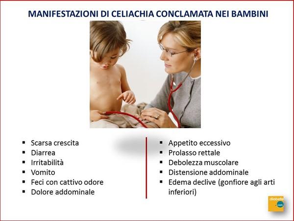Celiachia nei bambini